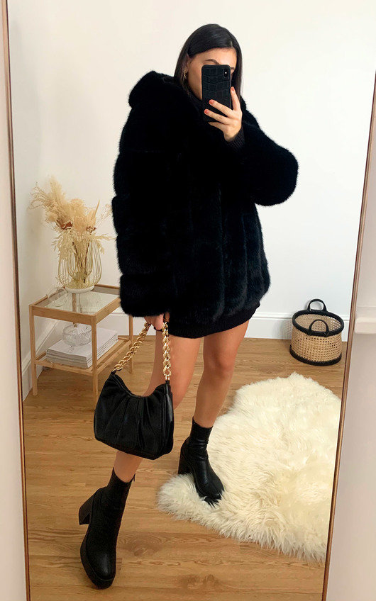 Serena Faux Fur Coat