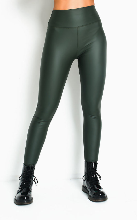Shanie Faux Leather Leggings