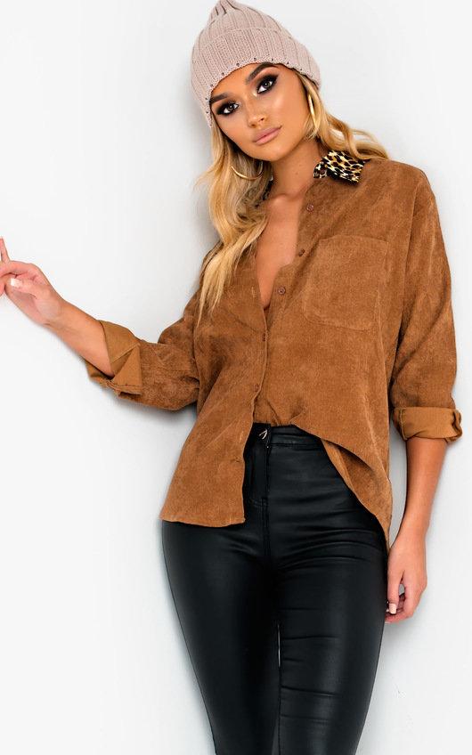 Sia Oversized Cord Shirt