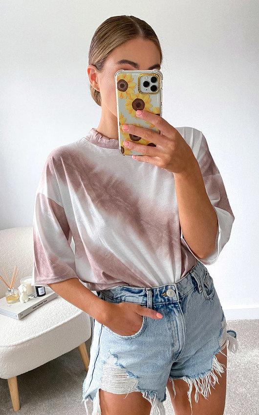 Sia Oversized Tie Dye Top