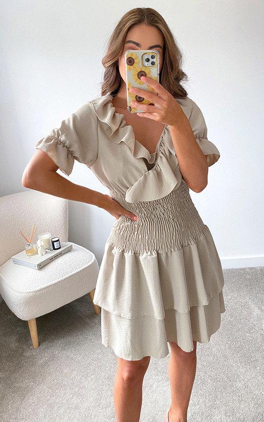 Sienna Frill Dress