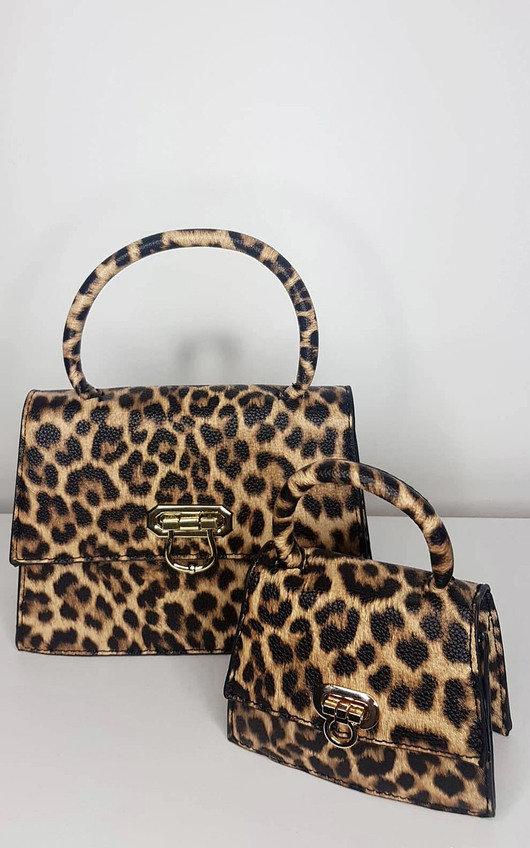 Sienna Leopard Bag