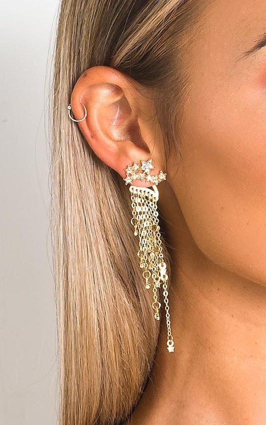 Sierra Shooting Star Drop Earrings