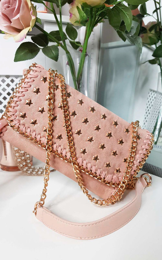 Sigrid Star Studded Shoulder Bag