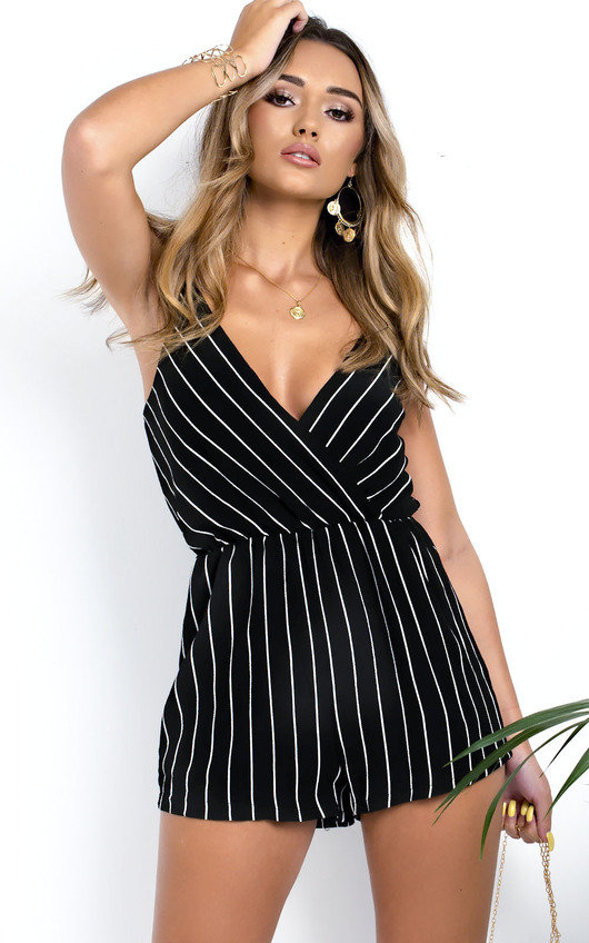 Sigrid Striped Playsuit