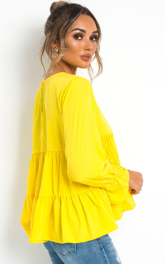 Skye Tiered Frill Top