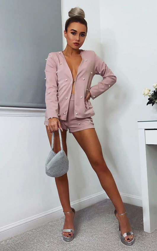 Sofia Tailored Blazer And Cropped Shorts Co-ord