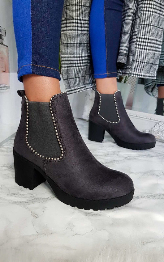 Sophie Chunky Ankle Boots