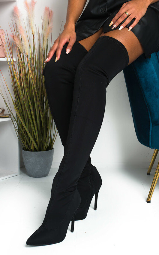 Soraya Over The Knee Heeled Boots