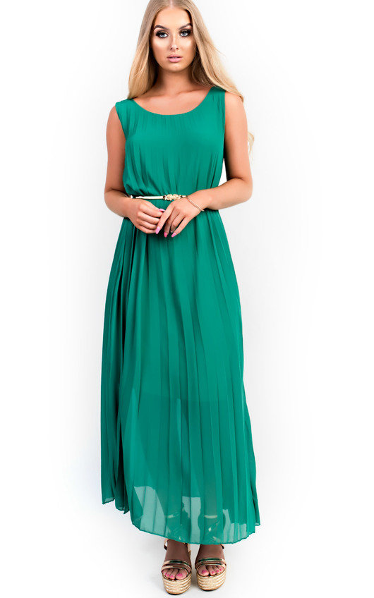 Sorcha Pleated Maxi Dress