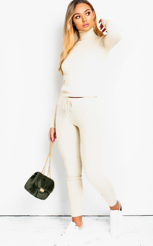 Stacey Cable Knit Lounge Co-ord