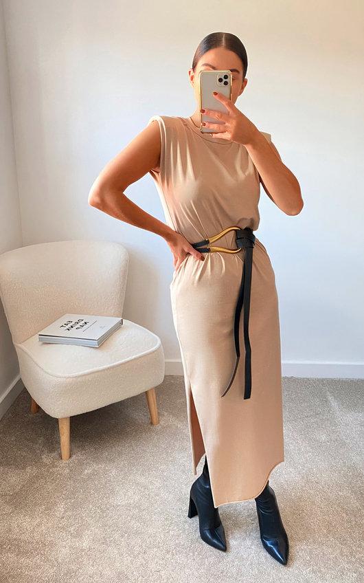 Steff Sleeveless Midi Dress