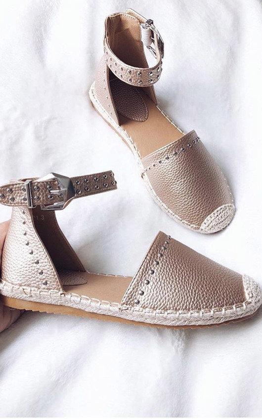 Steffi Studded Espadrille Sandals