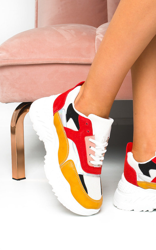 Steffie Chunky Mesh Trainers