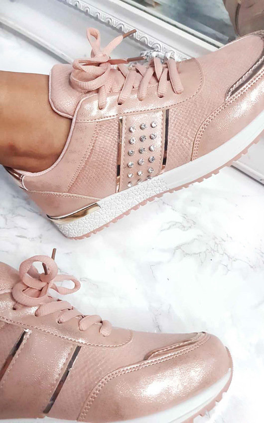 Stella Embellished Trainers