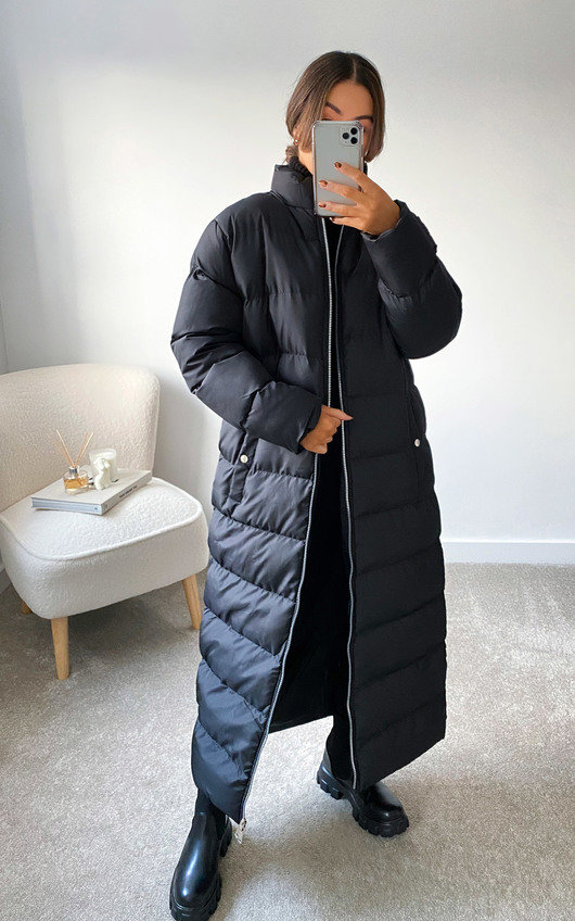 Steph Padded Longline Puffer Jacket