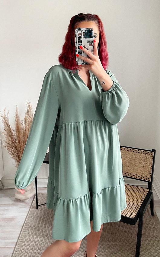 Storm Tiered Midi Dress