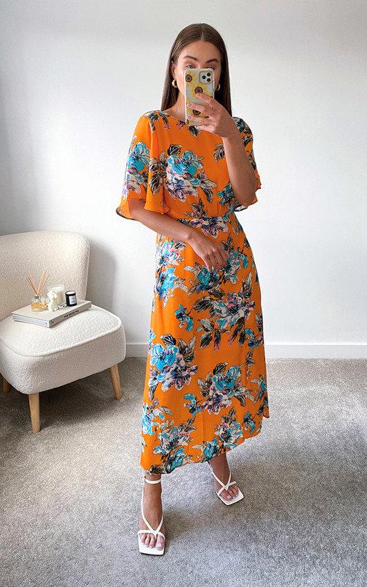 Suz Printed Midi Dress