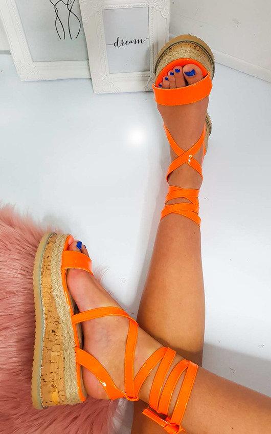Suzie Cork Strappy Wedge Sandals