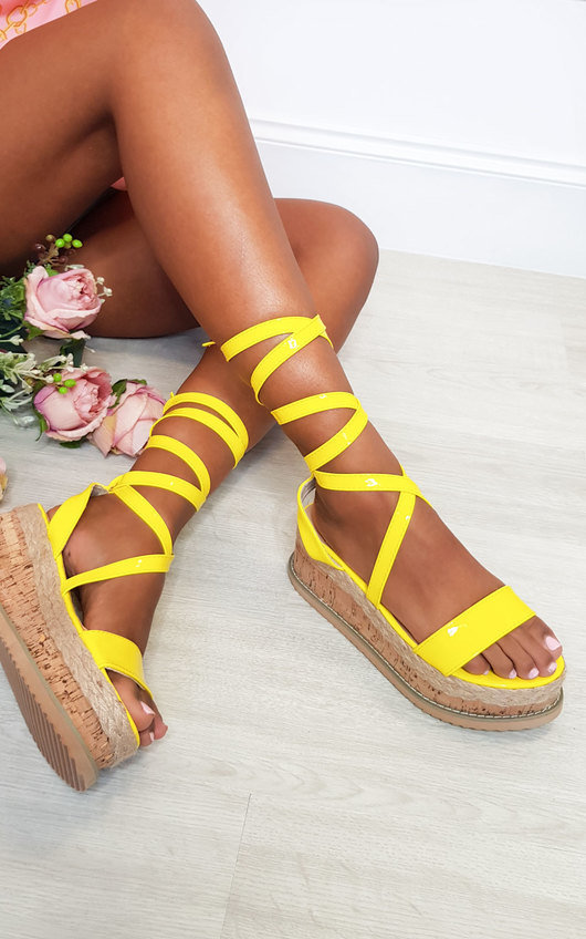Suzie Cork Strappy Wedge Sandals