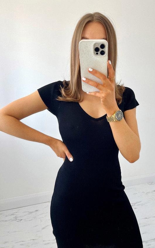 Sydney Knitted Bodycon Mini Dress