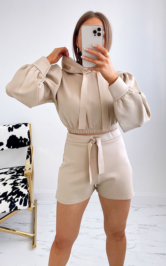 Talitha Cropped Hooded Co Ord