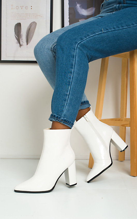 Tallulah Heeled Ankle Boots