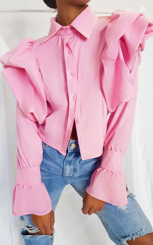 Tallulah Puff Sleeve Blouse Top