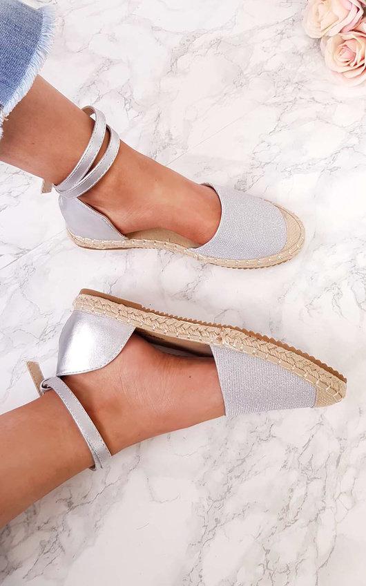Tammi Shimmer Espadrille Sandals