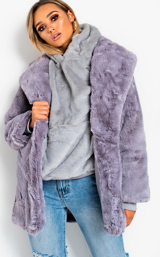 Tara Faux Fur Coat