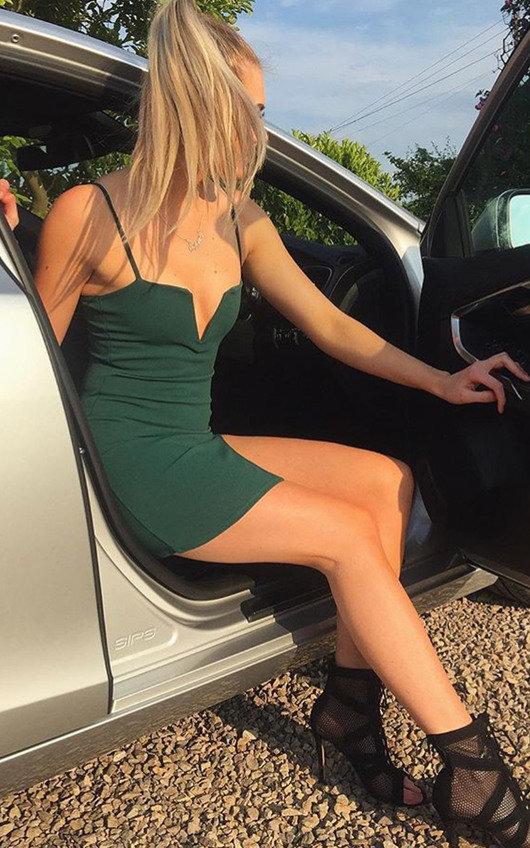 Tasha Side Split Bodycon Dress