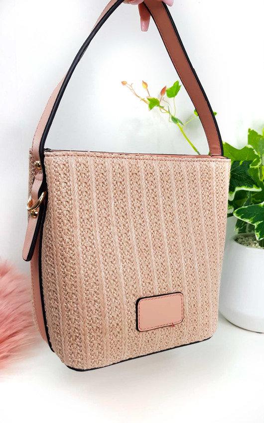 Tatiana Wicker Woven Handbag