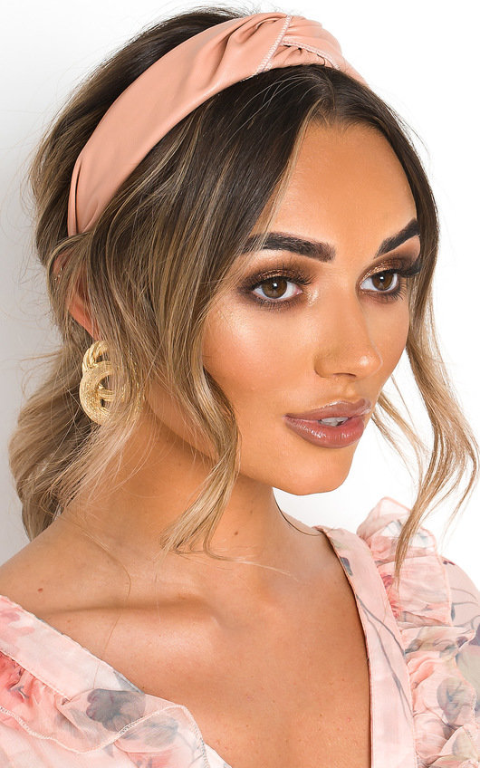 Tay Faux Leather Hairband