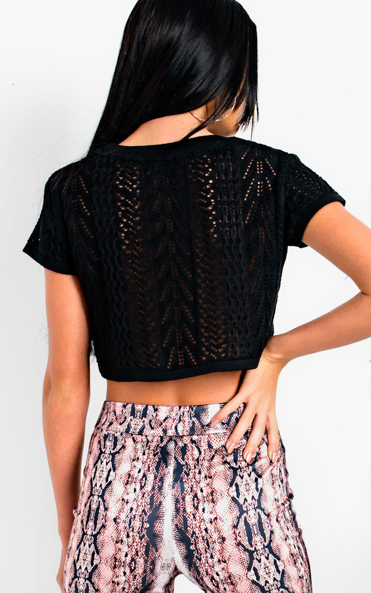 Taylah Cropped Knit Jumper