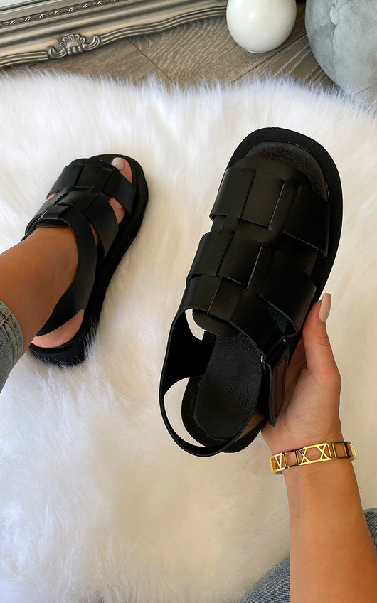 Tegan Strappy Chunky Sandals