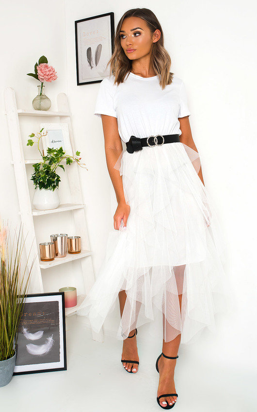 Tempany Tulle Midi Dress