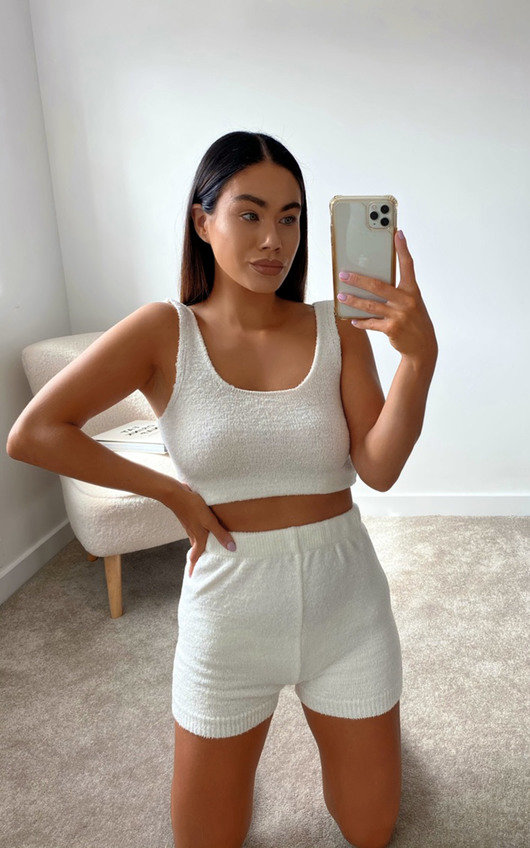 Tessa Fluffy Shorts & Top Co-ord