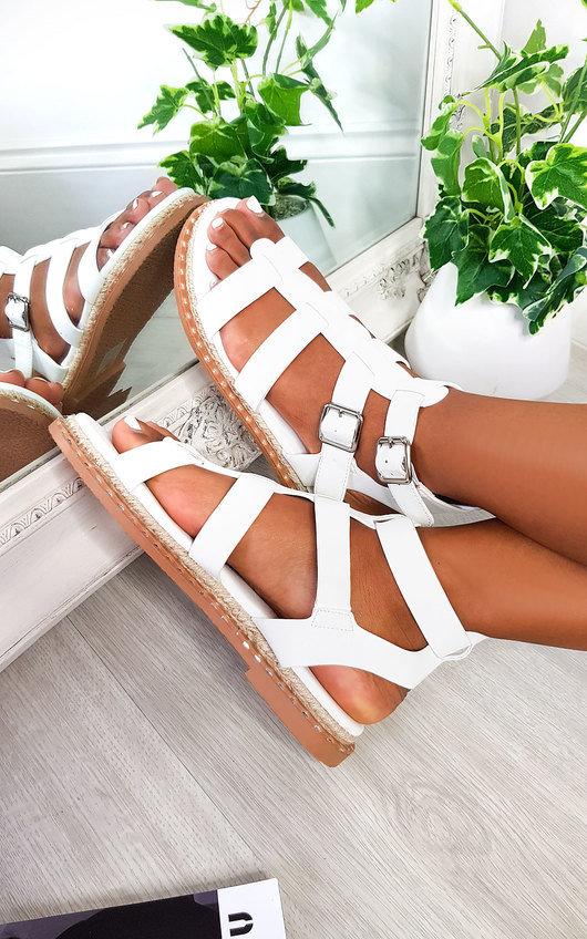 Tessi Strappy Flat Sandals