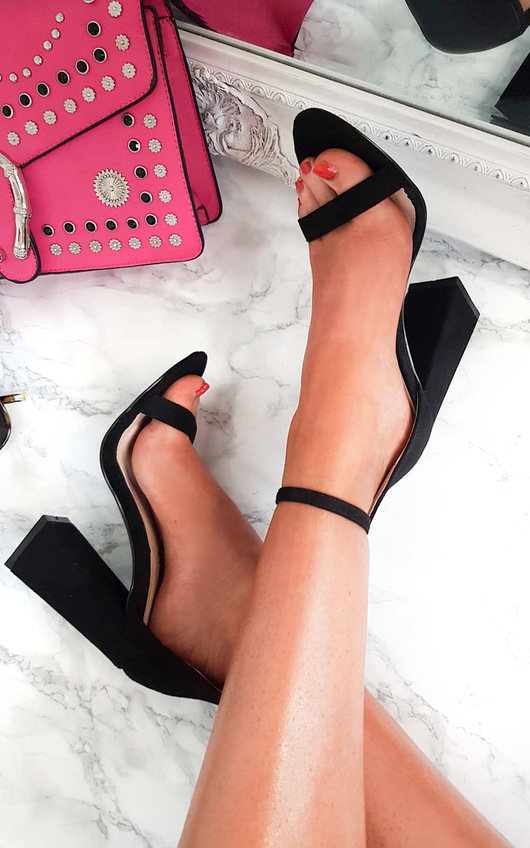 Tessie Barely There Block Heels