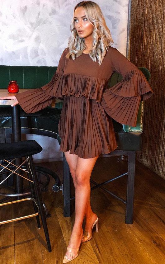 Tessy Frill Shift Dress