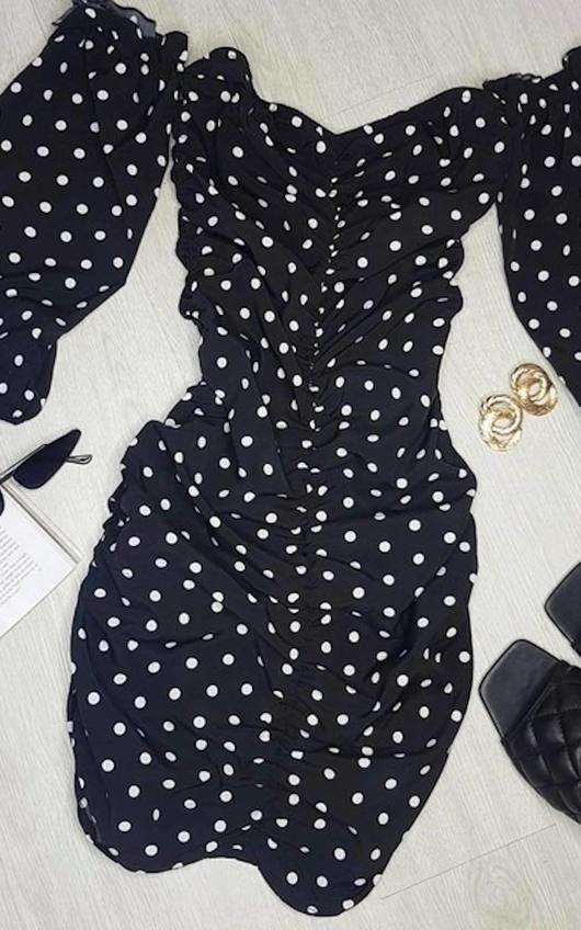 Tia Bardot Bodycon Dress