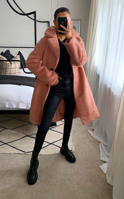 Tia Teddy Bear Coat
