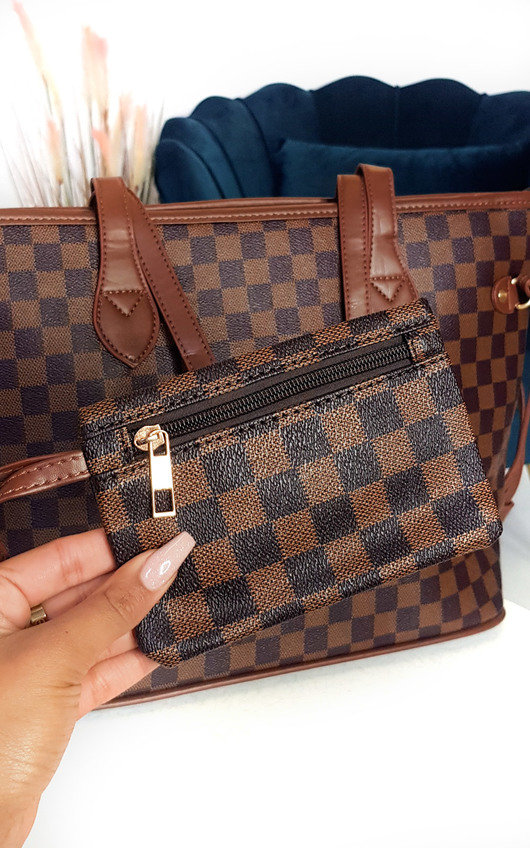 Tiana Check Shoulder Bag