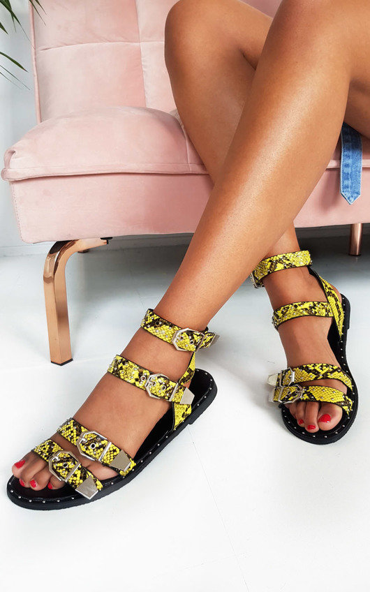Tillie Double Strap Studded Sandals