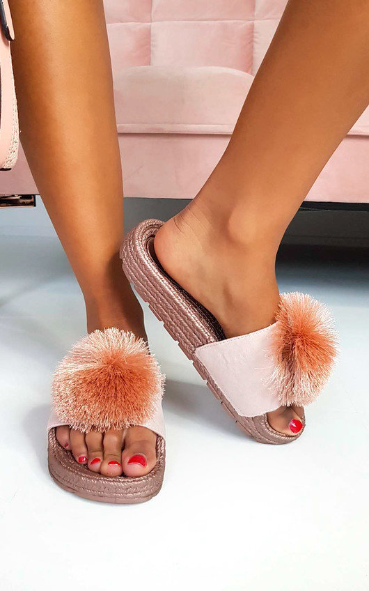Tilly Pom Pom Sliders