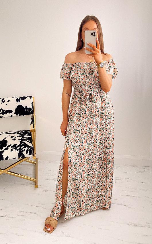 Tinsley Off Shoulder Floral Maxi Dress