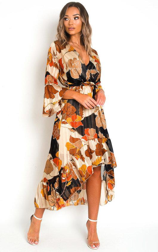 Tori Printed Maxi Dress