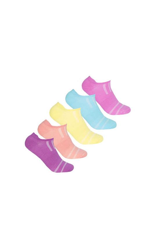 Trainer Socks Multi Pack in Neon
