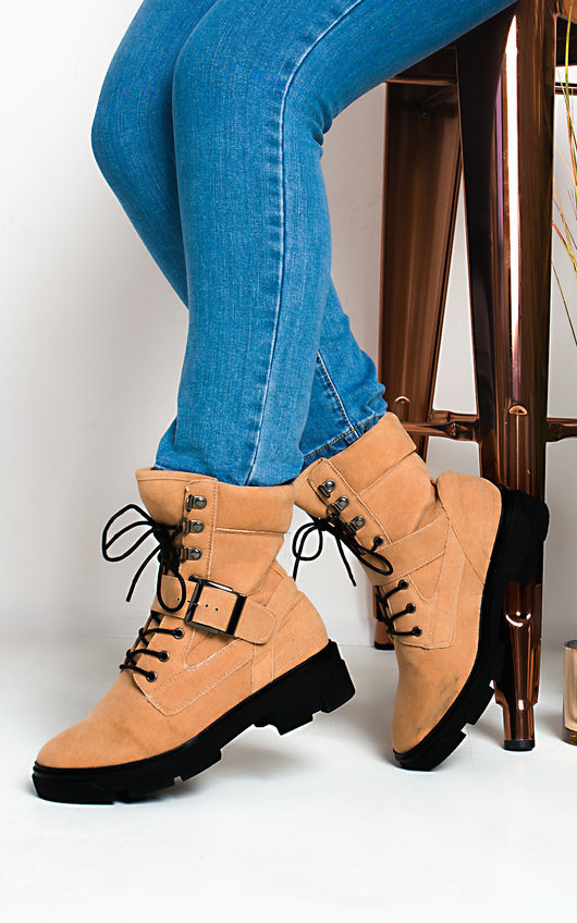 Trudy Lace up Ankle Boots