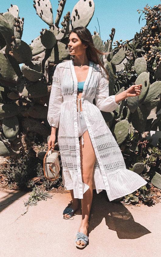 Ula Crochet Lace Maxi Dress